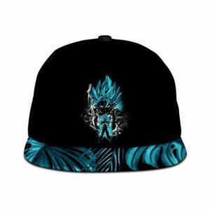 Dragon Ball Vegito Super Saiyan Blue Minimalist Breezy Snapback Cap