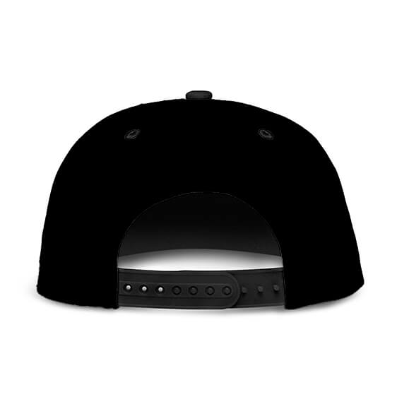 Dragon Ball Z Badman Awesome Black Snapback Hat