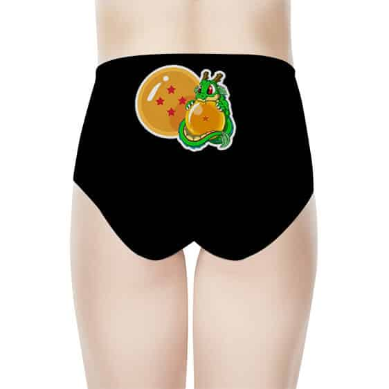 Dragon Ball Z Chibi Vegeta And Baby Shenron Women's Underwear