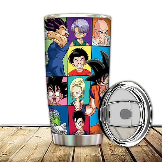 Dragon Ball Z Cool Goku Vegeta And The Z Fighters Tumbler