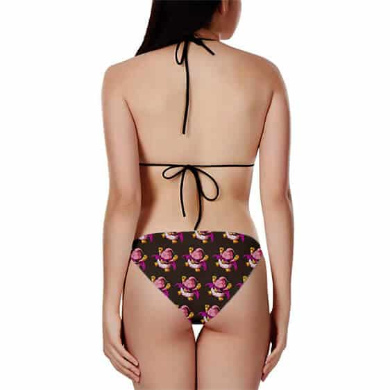 Dragon Ball Z Fat Buu Chibi Fantastic Pattern Bikini Swimsuit