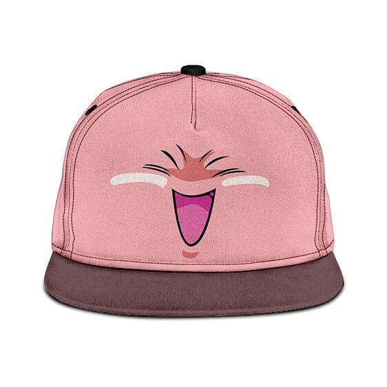Dragon Ball Z Fat Buu Cute Pink Simple Snapback Hat