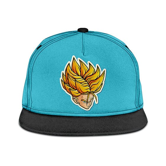 Dragon Ball Z Future Trunks Super Saiyan Breezy Blue Snapback