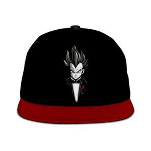 Dragon Ball Z Gentleman Vegeta Dope Black Red Snapback