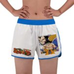 Dragon Ball Z Goku And Vegeta Manga Cover Women's Beach Shorts