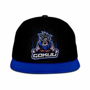 Dragon Ball Z Goku Charging Up Vectorized Cool Snapback Cap