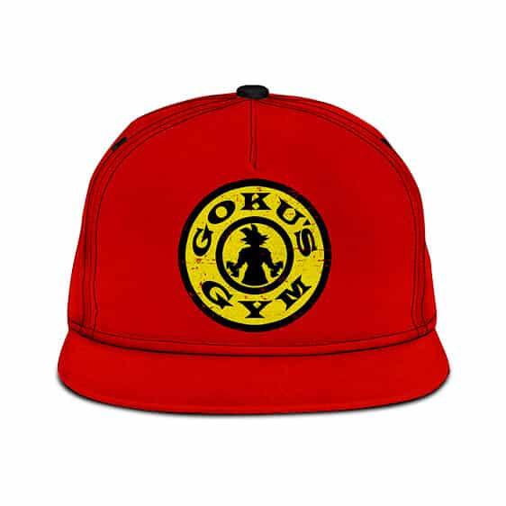 Dragon Ball Z Goku's Gym Awesome Red Snapback Hat