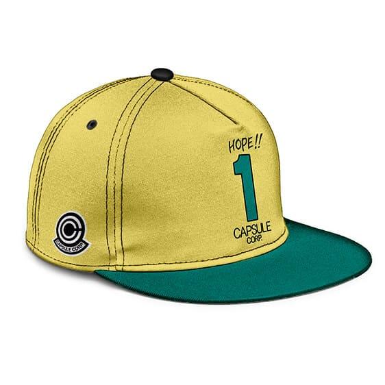 Dragon Ball Z Hope 1 Capsule Corp Dope Snapback Hat
