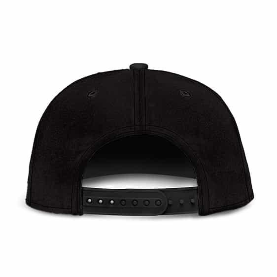 Dragon Ball Z Jiren Silhouette Minimalist Black Cool Snapback Cap
