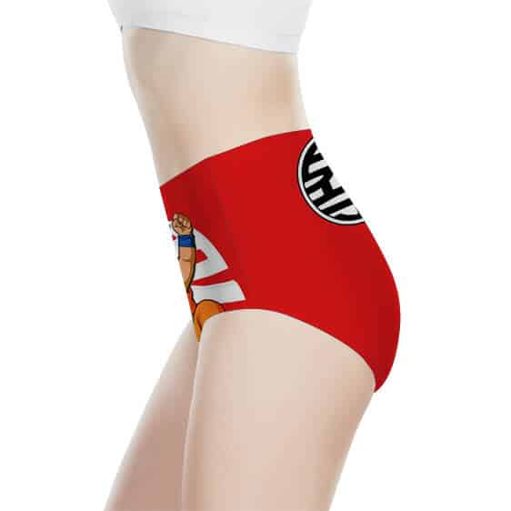 Dragon Ball Z Kid Goku King Kai Kanji Women's Underwear
