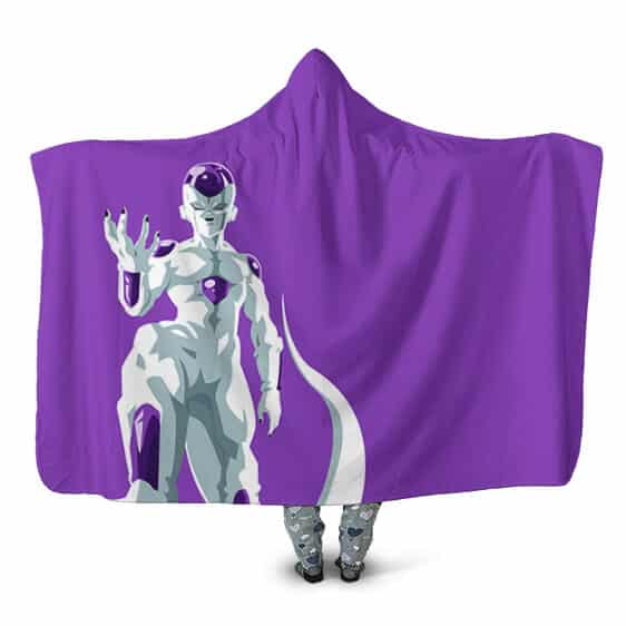 Dragon Ball Z Lord Frieza Final Form Vector Art Hooded Blanket