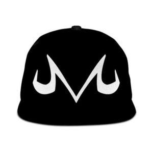 Dragon Ball Z Majin Symbol Awesome Minimalist Black Snapback Cap