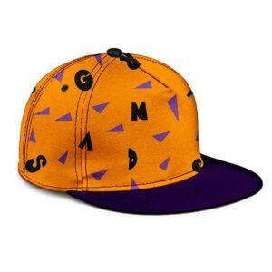Dragon Ball Z Master Roshi Cool Pattern Cosplay Snapback Hat