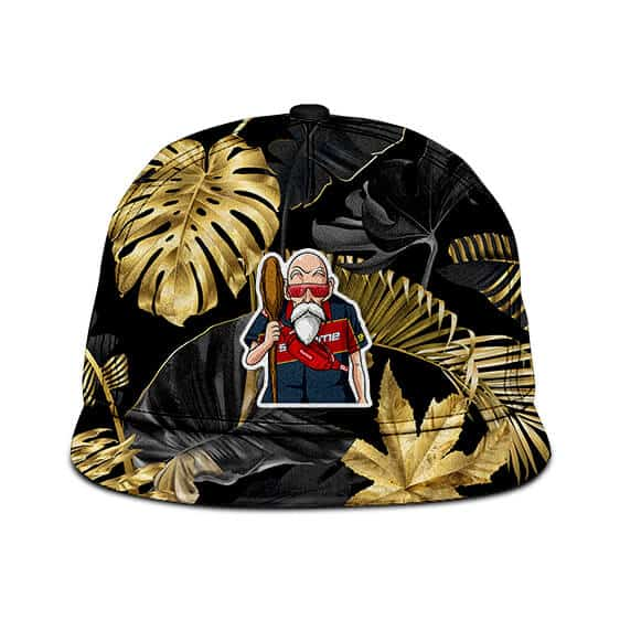 Dragon Ball Z Master Roshi Supreme Gold Design Dope Snapback