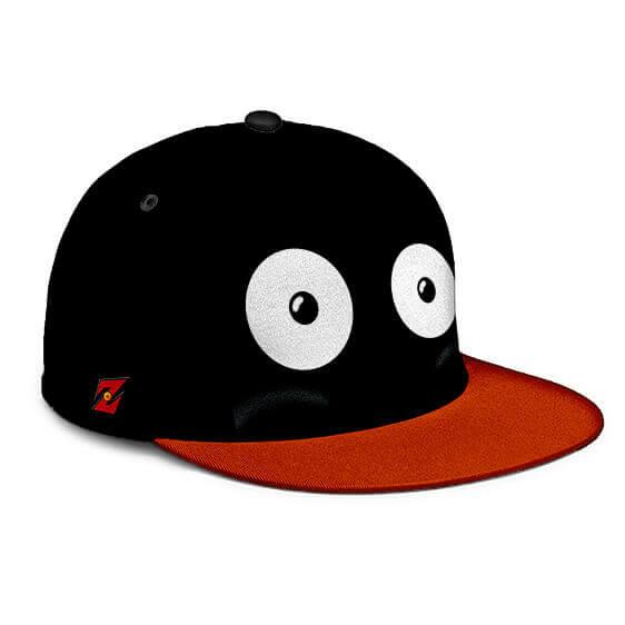 Dragon Ball Z Mr. Popo Cute Eyes Black Red Orange Cosplay Snapback