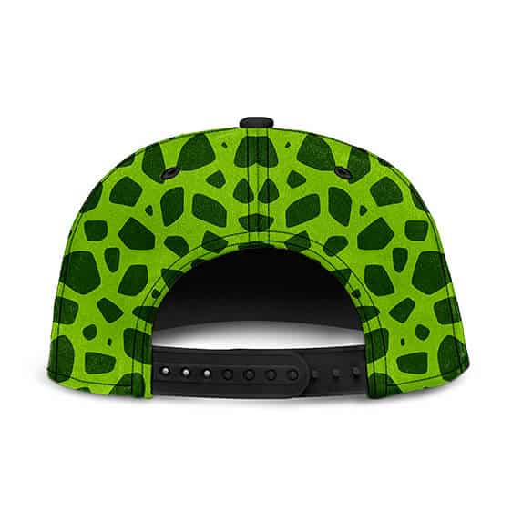 Dragon Ball Z Perfect Cell Pattern Cosplay Dope Snapback Hat
