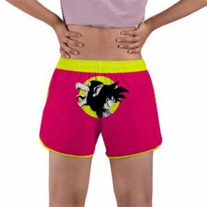 Dragon Ball Z Powerful Oozaru Full Moon Women's Beach Shorts