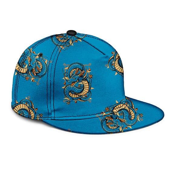 Dragon Ball Z Shenron Blue Awesome Pattern Snapback