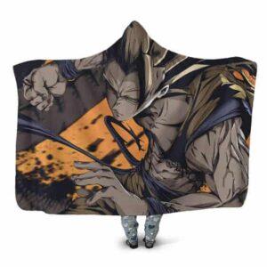 Dragon Ball Z The Coolest Goku Super Saiyan 3 Hooded Blanket