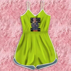 Dragon Ball Z Trunks Casual Get up Cool Green Romper