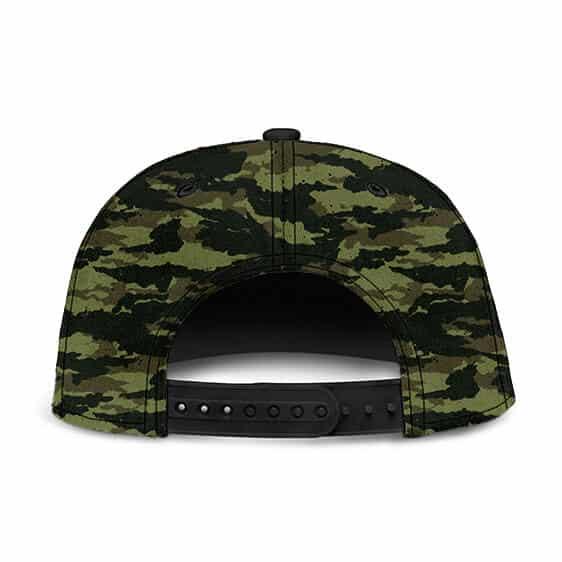 Dragon Ball Z Vegeta Camouflage Saiyan Family Crest Snapback Hat
