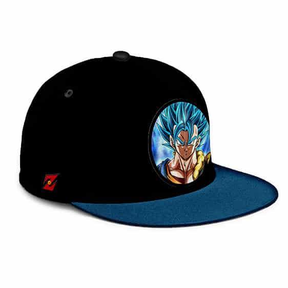 Dragon Ball Z Vegito Gogeta Super Saiyan Blue Dope Snapback Cap