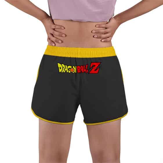 Enraged Son Goku SSJ2 Power Surge DBZ Women's Beach Shorts