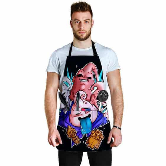 Fat Thin Evil and Kid Majin Buu Dragon Ball Awesome Apron
