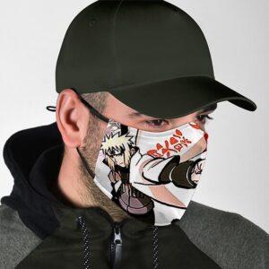 Fierce Minato Namikaze Yondaime Hokage Naruto Face Mask