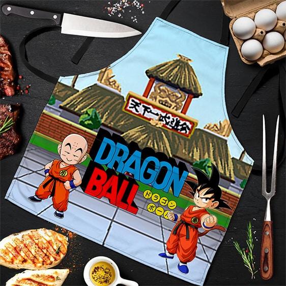 Goku Krillin Martial Arts Tournament Dragon Ball Cool Apron