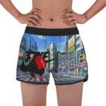 Goku Nike And Supreme Attire City Street Women's Beach Shorts