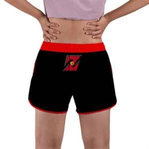 Goku Saving The World Since 1984 Logo Women's Beach Shorts