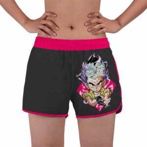 Gotenks Super Ghost Kamikaze Attack DBZ Women's Swim Shorts
