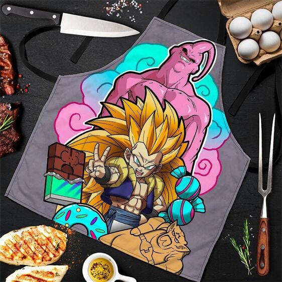 Gotenks and Evil Majin Buu Dragon Ball Z Cool Awesome Apron