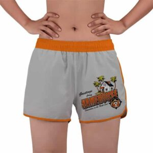 Greetings From Kame House Dragon Ball Women's Beach Shorts