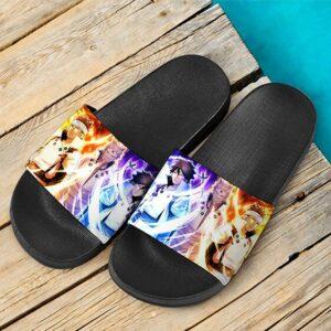 Hagoromo Otsutsuki With Sons Asura Indra Awesome Slide Slippers