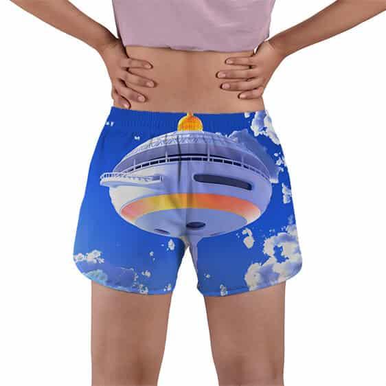 Hermit Master Karin Tower Dragon Ball Super Women's Swim Shorts