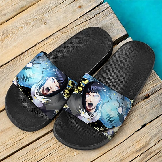 Hinata Hyuga Byakugan Dragon Punch Ninja Voltage Slide Slippers