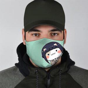 Hinata Hyuga Hamster Face Cute Naruto Shippuden Face Mask