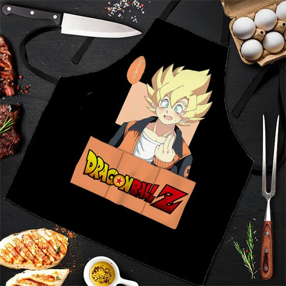 Hip Super Saiyan Goku Dragon Ball Z Cool and Awesome Apron