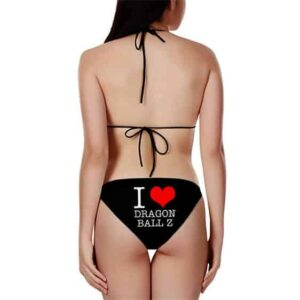 I Love Dragon Ball Minimalist Hot Sexy Black Bikini Swimsuit
