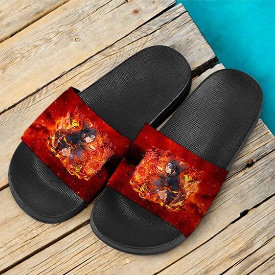 Itachi Sharingan Genjutsu Ultimate Ninja Blazing Slide Sandals