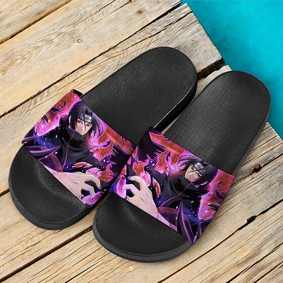 Itachi Uchiha Akatsuki Rogue Ninja Wonderful Slide Slippers
