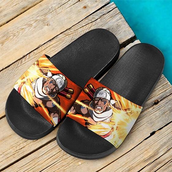 Killer Bee Jinchuriki of the Eight Tails Dope Slide Sandals
