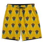 King Of Marijuana Awesome Seamless Pattern 420 Men's Shorts