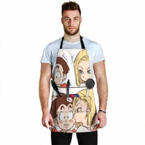 Krillin Android 18 and Marron Dragon Ball Z Cute Cool Apron