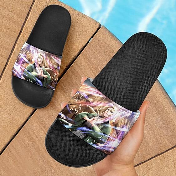 Lady Tsunade Senju Fifth Hokage Powerful Slide Slippers