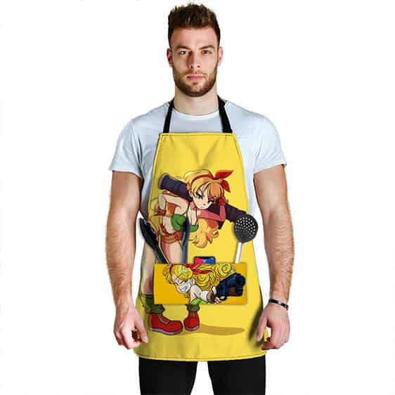 Launch Bad Girl Side Dragon Ball Z Cute Cool Awesome Apron
