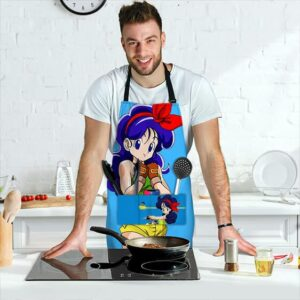 Launch Good Girl Side Dragon Ball Z Cute Cool Awesome Apron