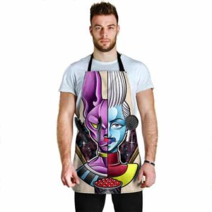 Lord Beerus and Whiz Caviar Dragon Ball Super Awesome Apron